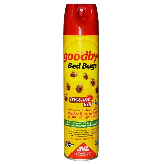 Goodbye Roaches Spray (Bed Bugs & Fleas)