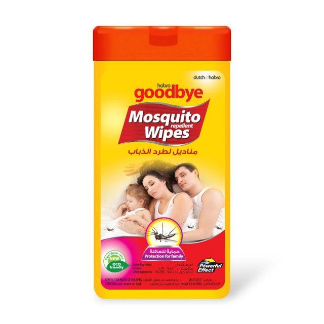 Goodbye Mosquito Wipes
